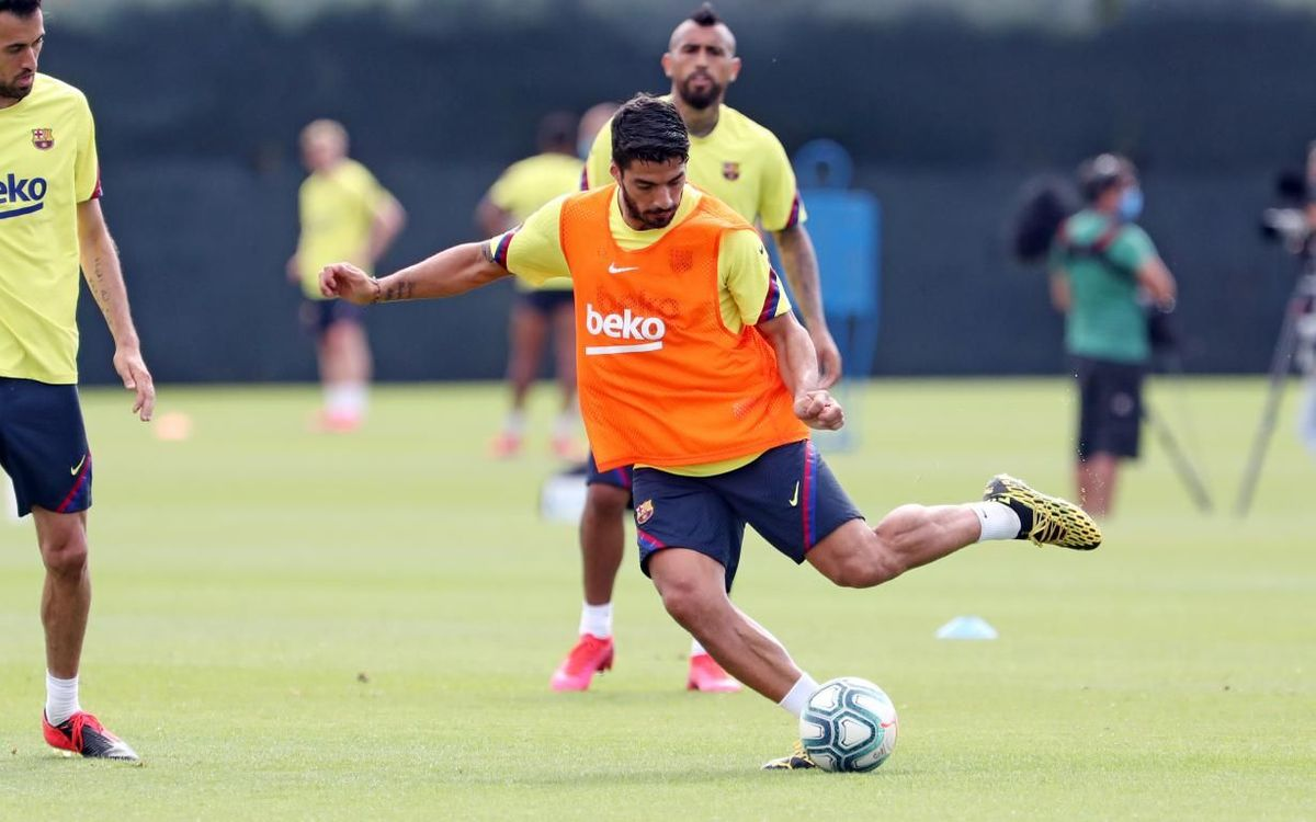 Back to work at the Ciutat Esportiva