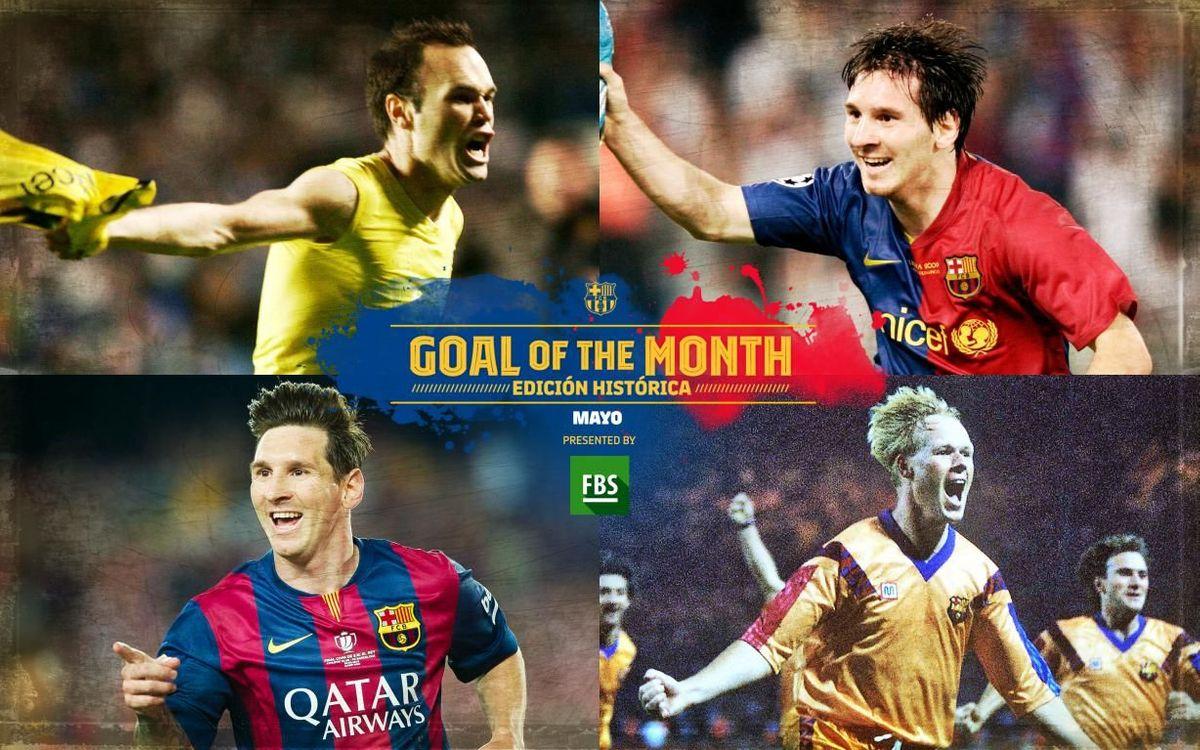 ¿Qué gol histórico del mes de mayo te gusta más?