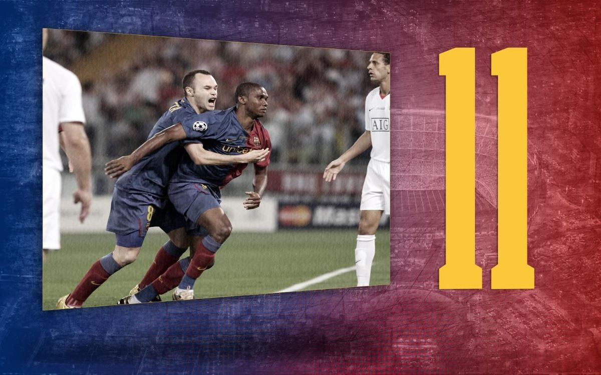 Stat of the day | 11: Barça's scorers in Champions League finals