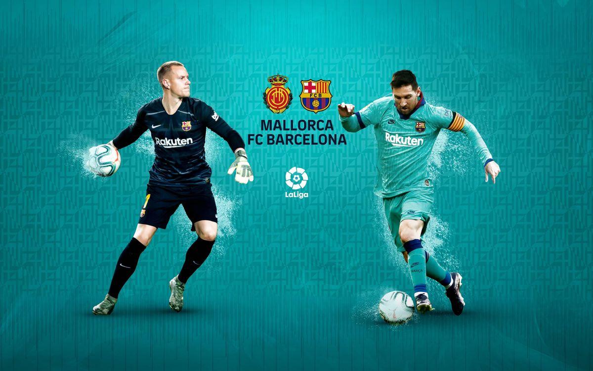 Cuándo y dónde ver el Mallorca - FC Barcelona