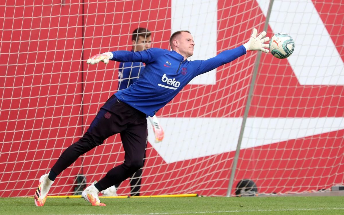 Ter Stegen: 'Having been able to recharge the batteries can only help us'