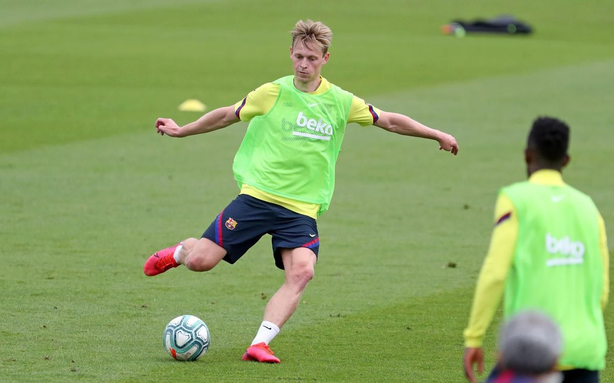 De Jong: 'We really want to compete'
