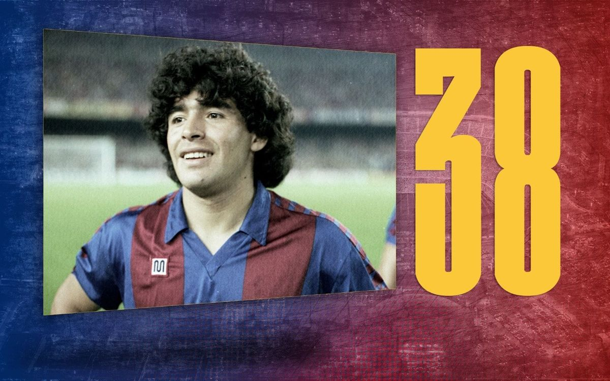 Stat of the day: 38 | Maradona's goals at Barça