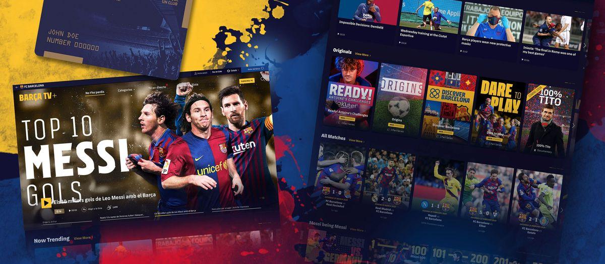 Sólo por ser socio del Barça tienes derecho a disponer gratuitamente de Barça TV+