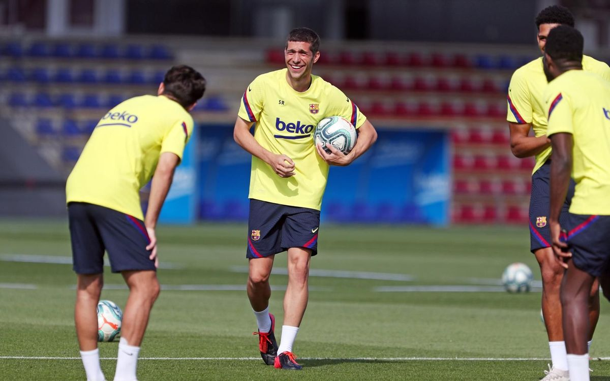 Third training session of the week