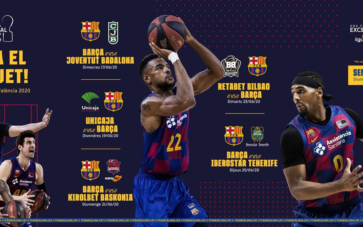 Calendari Fase Final Liga Endesa