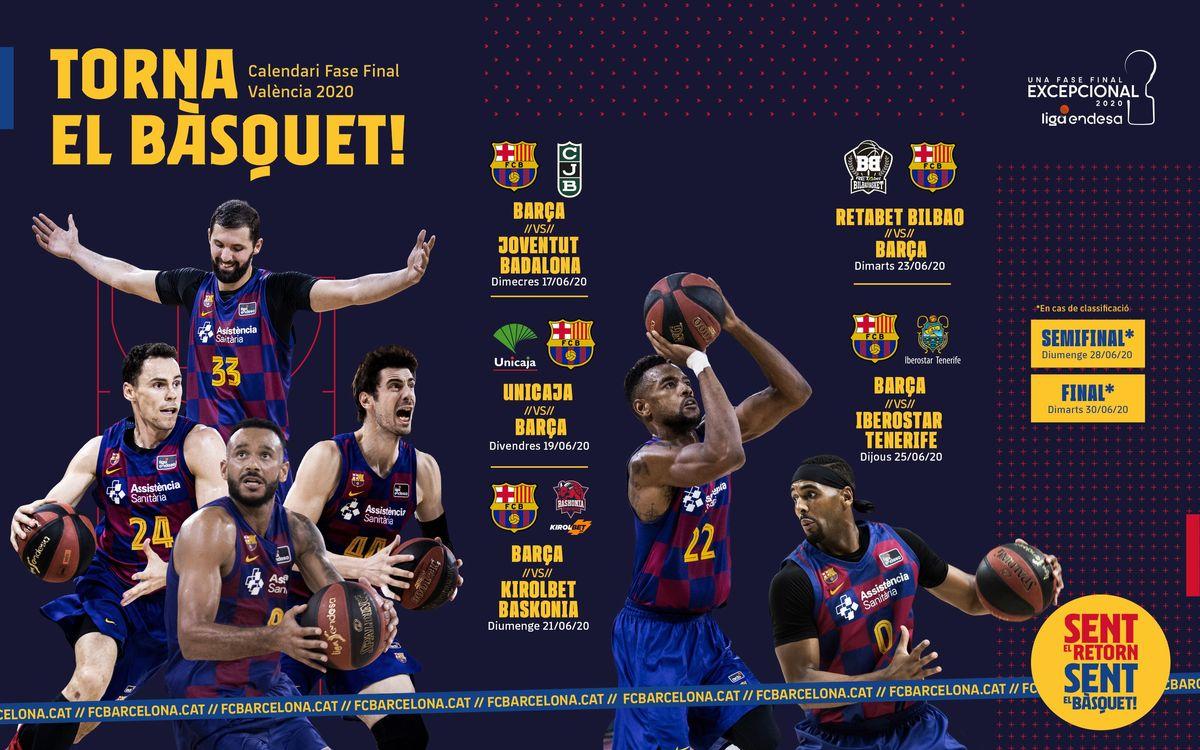 Fase Final Valencia 2020 Liga Endesa