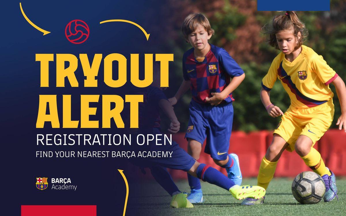 Find your nearest Barça Academy