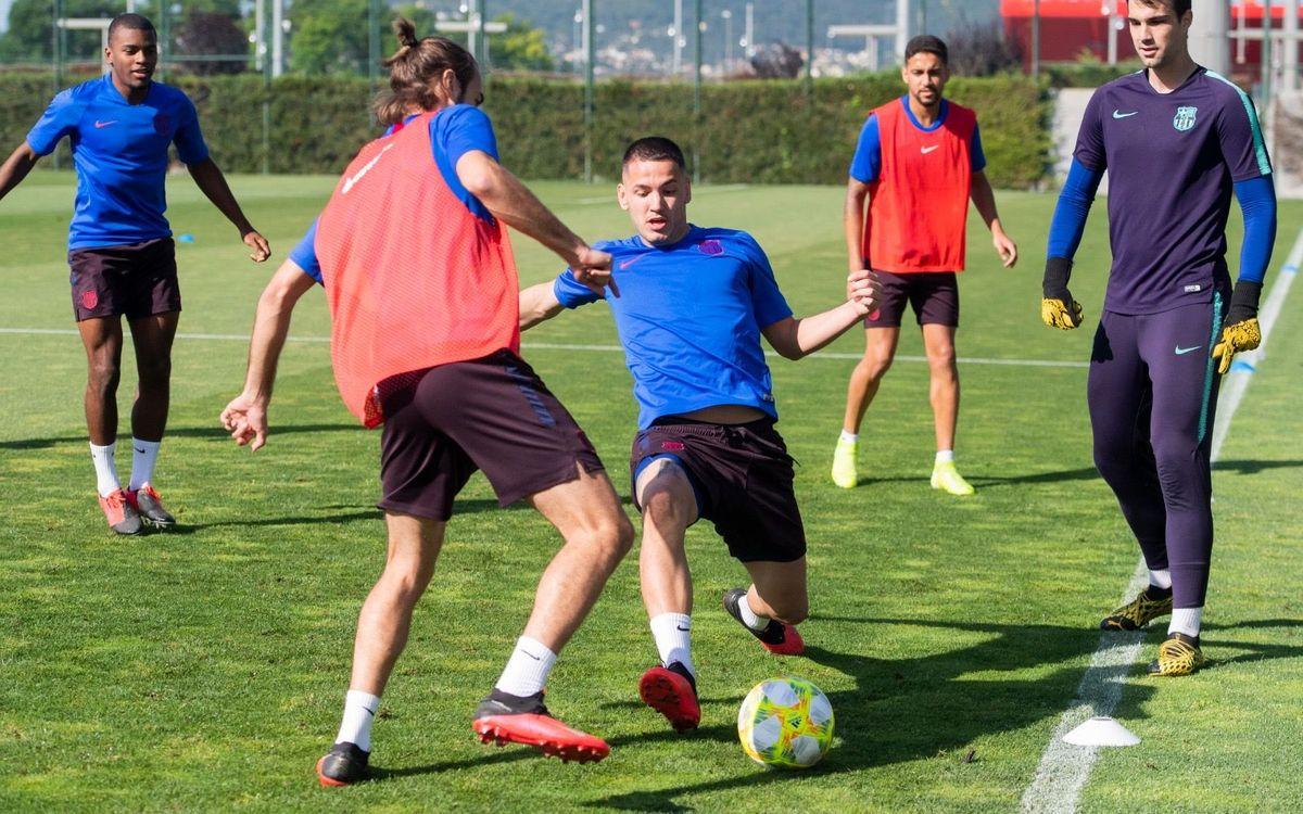 Los rondos vuelven al Barça B