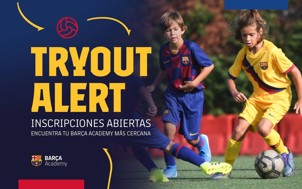 Encuentra tu Barça Academy más cercana