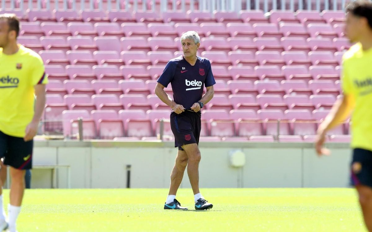 Quique Setién: 'The team look to have special motivation'