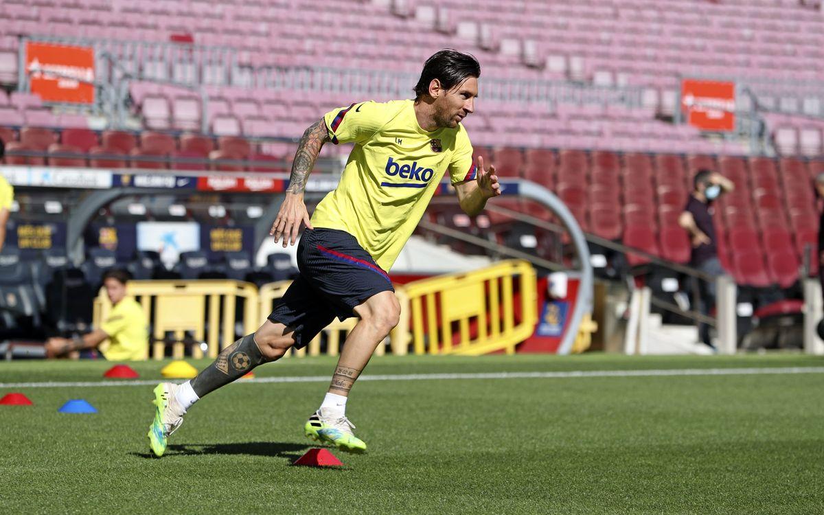 De retour au Camp Nou
