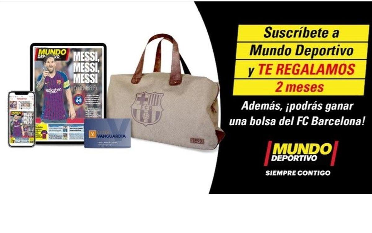 El Barça regala a los socios 2 meses de Suscripción e-paper a 'Mundo Deportivo