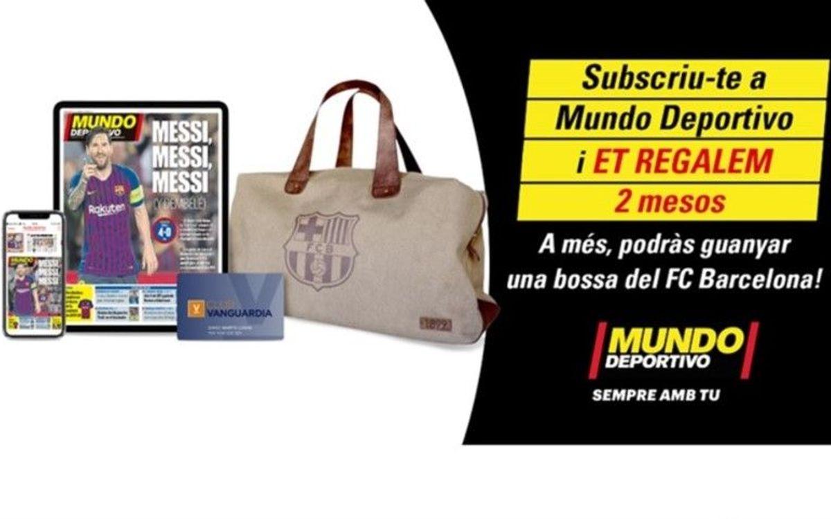 El Barça regala als socis 2 mesos de Subscripció e-paper a 'Mundo Deportivo