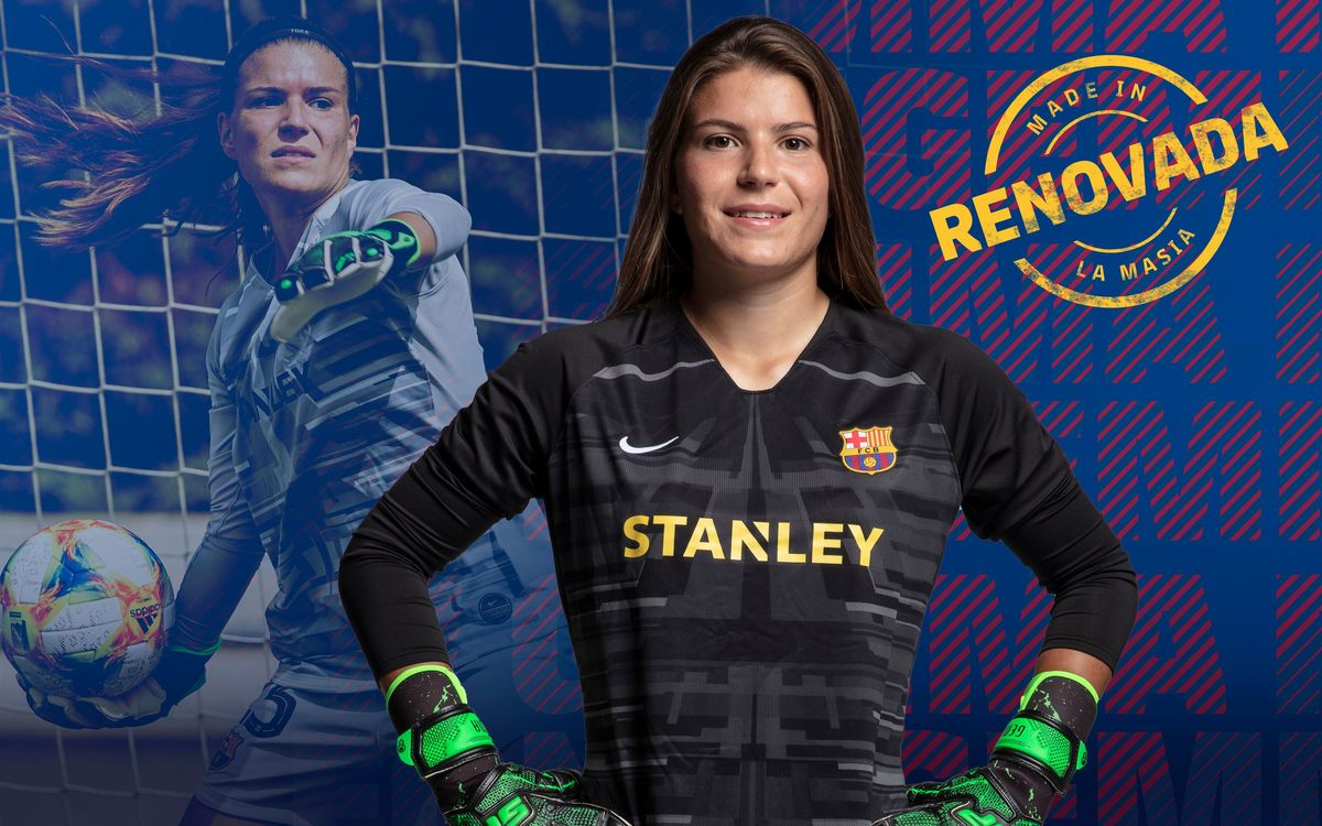Acuerdo para la renovación de Gemma Font hasta 2022