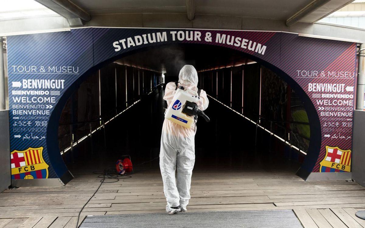 Un nen de Sant Joan de Déu, acompanyat del Robot Pol, serà el primer a visitar el Museu després de l'aturada per la Covid-19