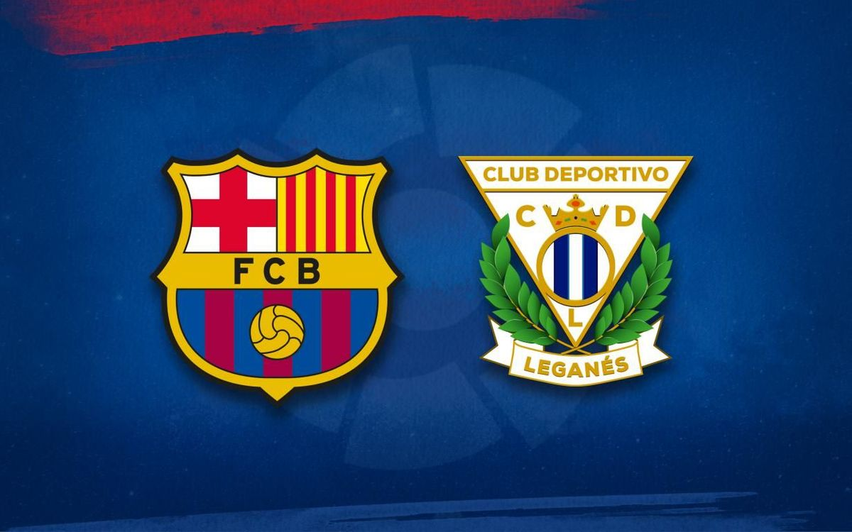 Barça lineup for Leganés game