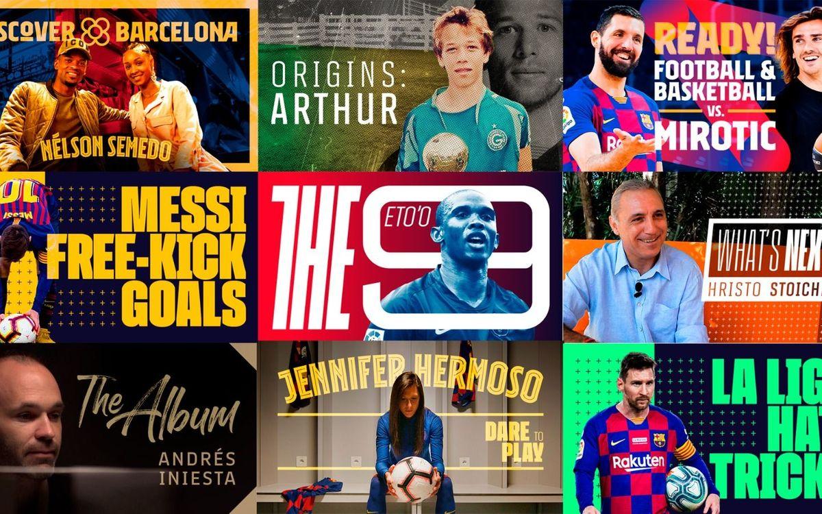 Los 10 mejores contenidos que ya puedes ver en BarçaTV+