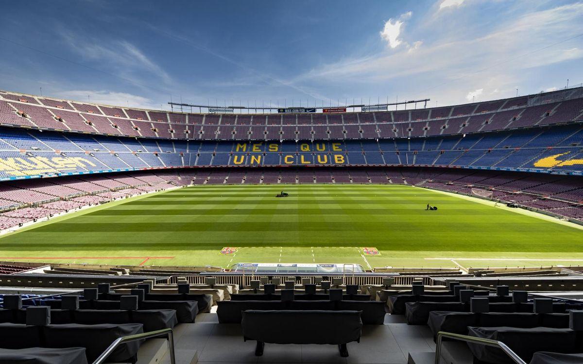 Barça are back as football returns