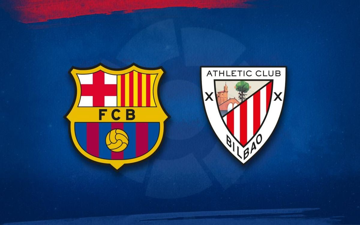 Barça lineup for Athletic Club game