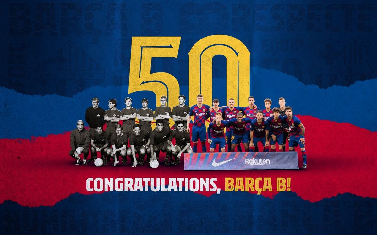 Barça B 50 years old!