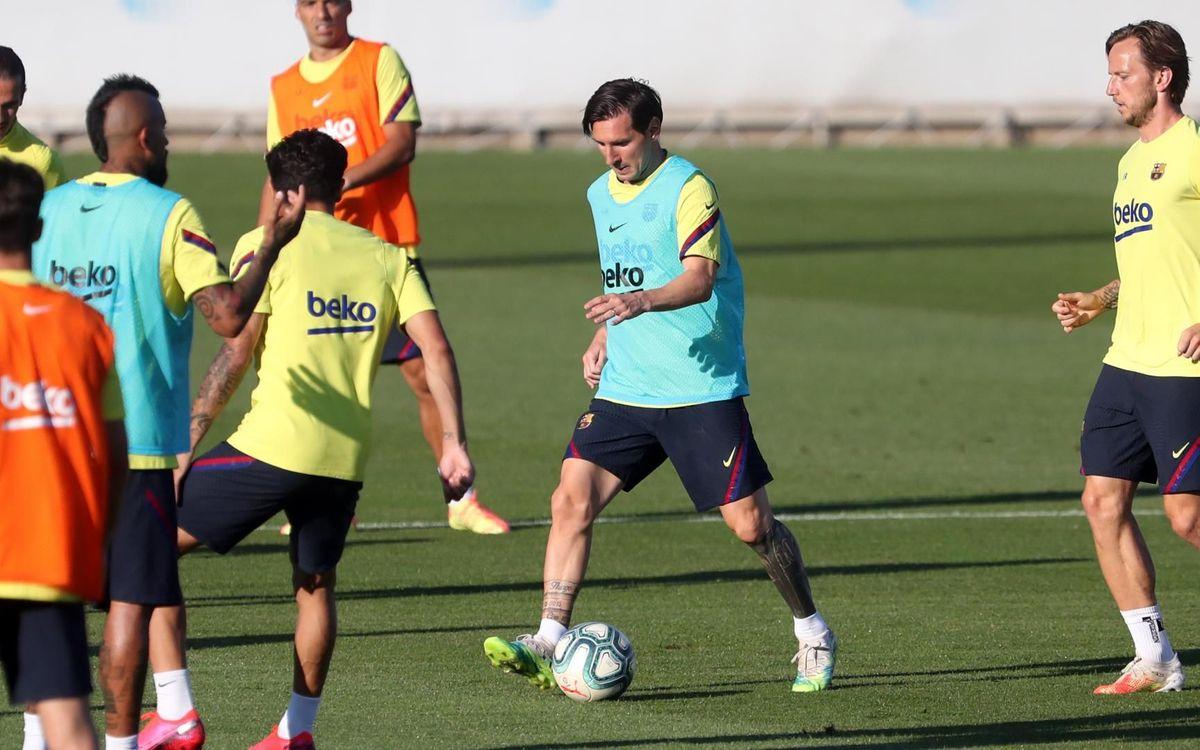 Le nom des convoqués pour le retour du Barça en Liga