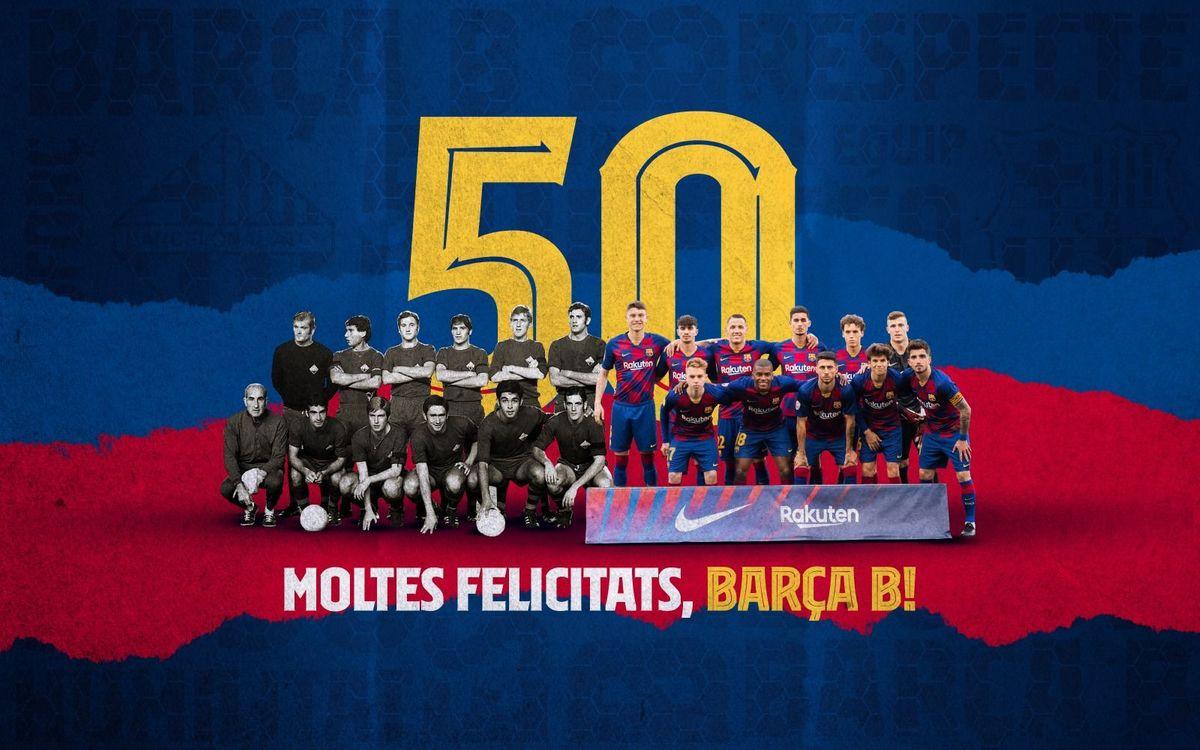 El Barça B compleix 50 anys