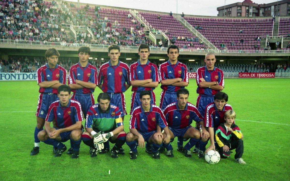 3 - BARÇA B 0 EIBAR 0 - MINIESTADI (22-10-94) - SEGUÍ