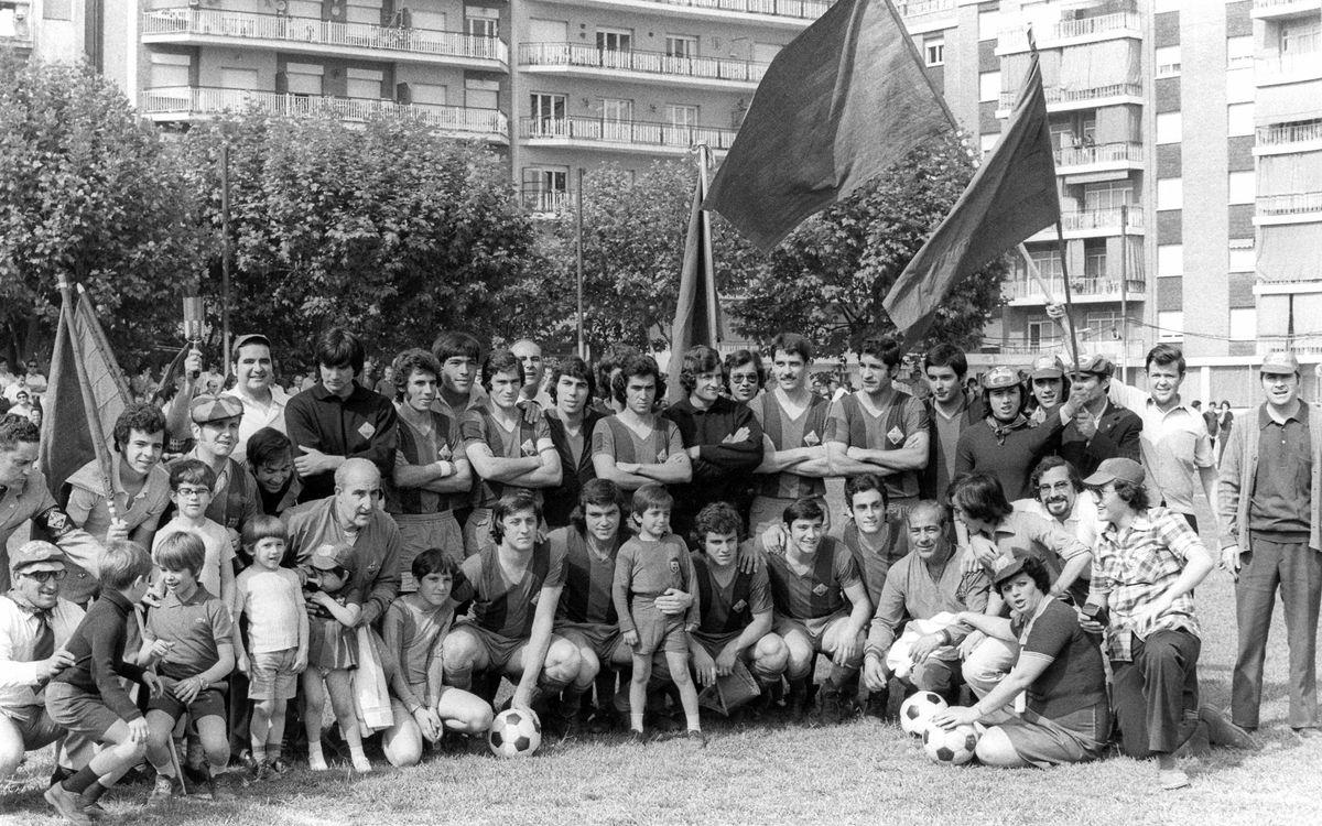 Els pioners del Barça Atlètic