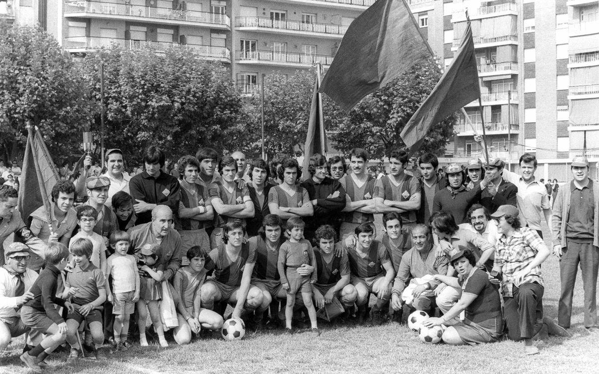 Los pioneros del Barça Atlético