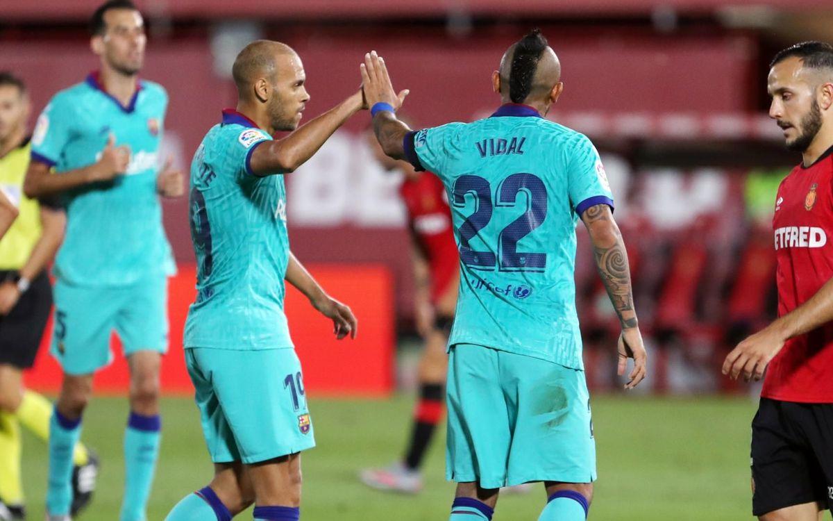 Mallorca - Barça: Un regreso triunfal (0-4)
