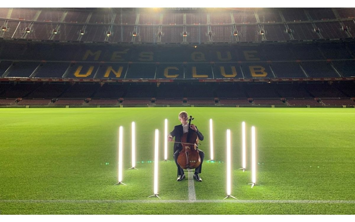 Liceu musicians to play 'Cant dels ocells' on Camp Nou return in tribute to the victims of Covid-19