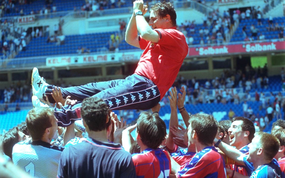 El día que el Barça B ascendió a Segunda A en el Santiago Bernabéu