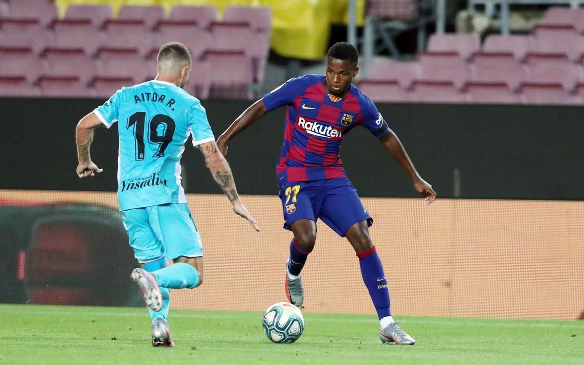 Ansu Fati: goles de calidad