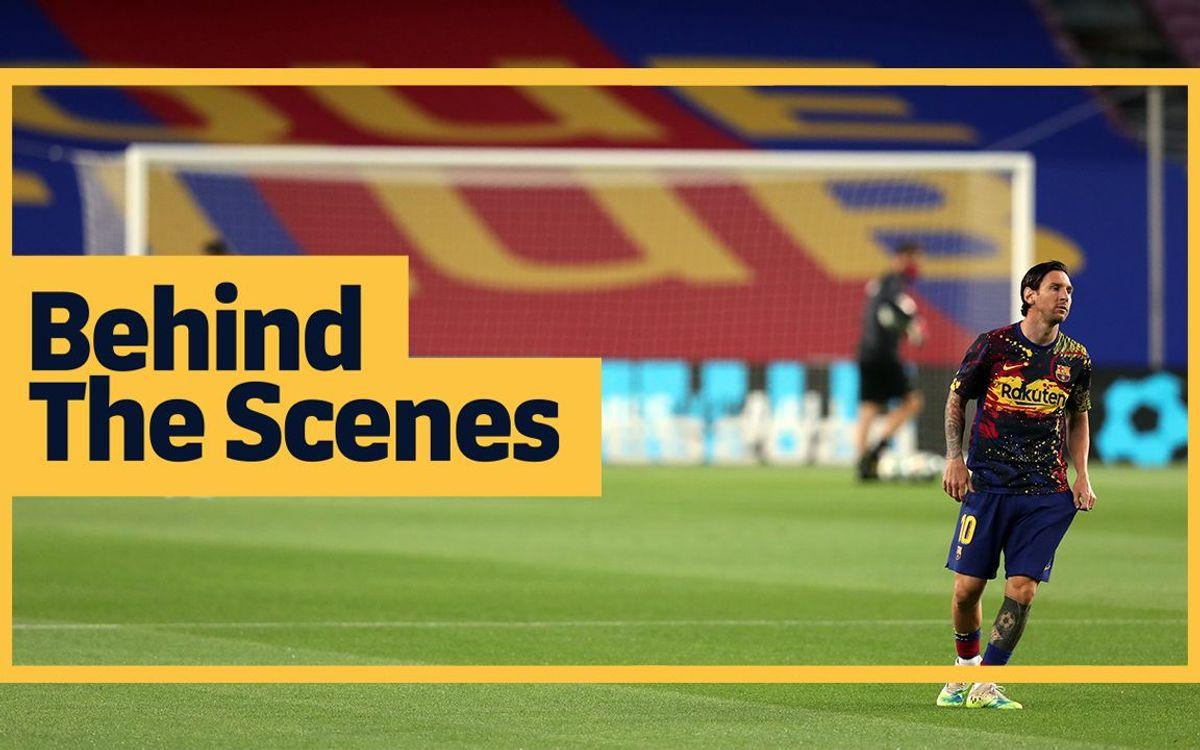 Les coulisses de Barça - Leganés (2-0)