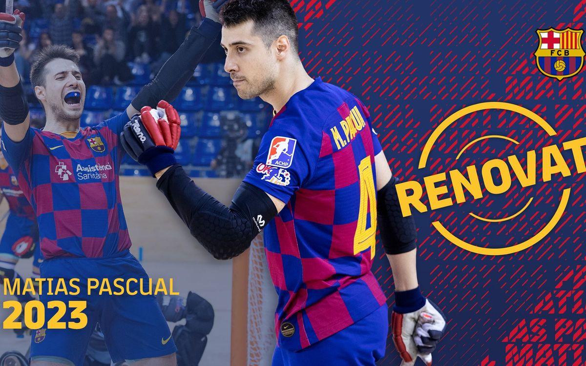 Matias Pascual seguirá en el Barça hasta 2023