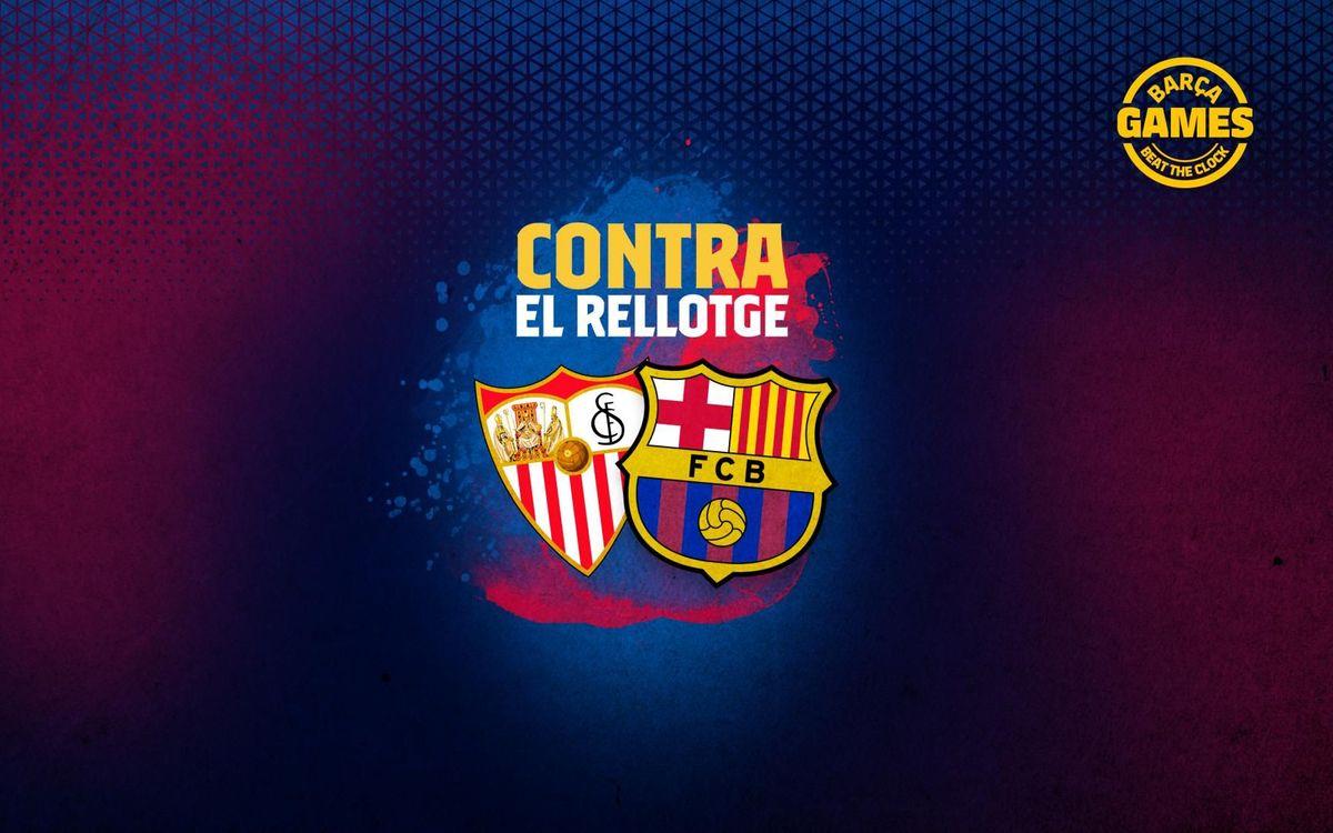 CONTRA EL RELLOTGE | Anomena els 15 futbolistes que han estat a Barça i Sevilla al s. XXI