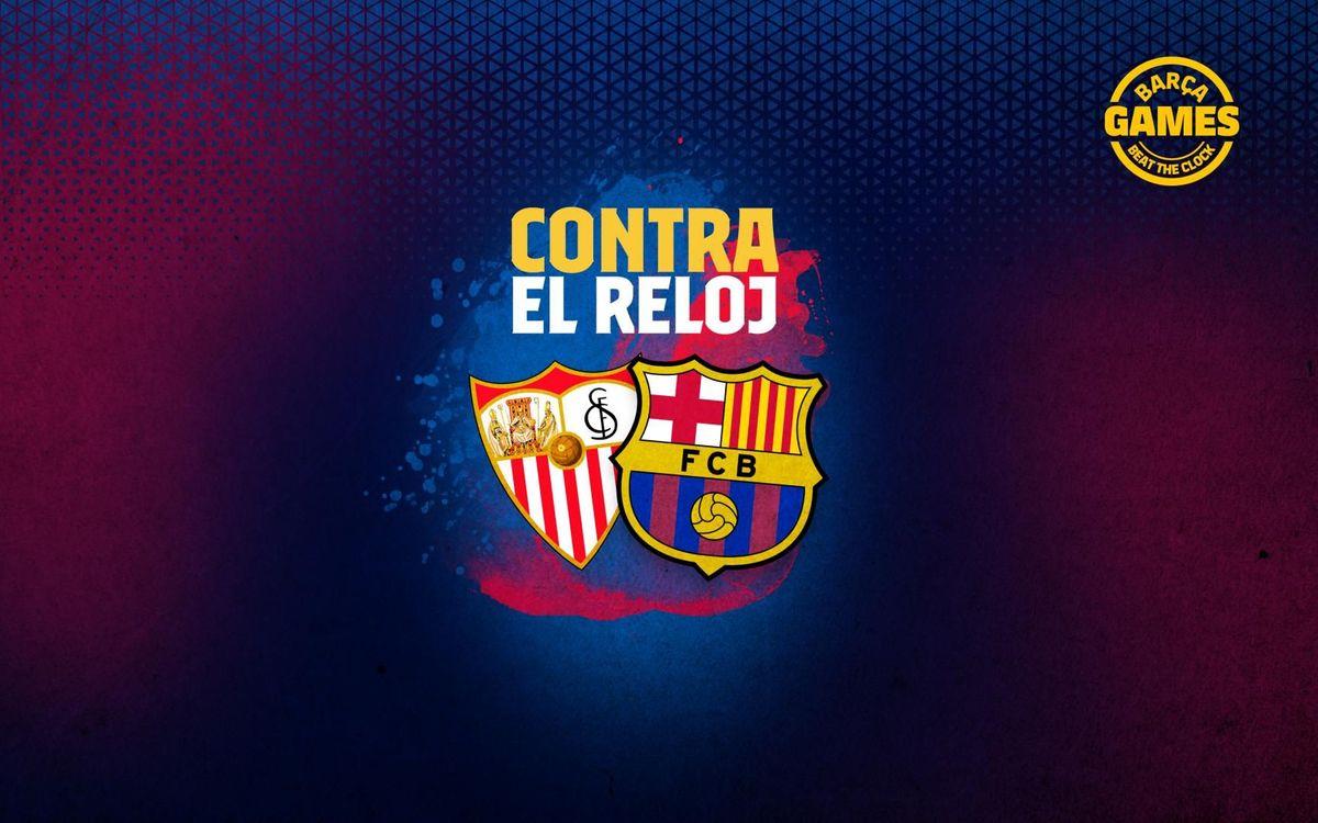 CONTRA EL RELOJ   Nombra los 15 futbolistas que han estado en Barça y Sevilla en el s. XXI