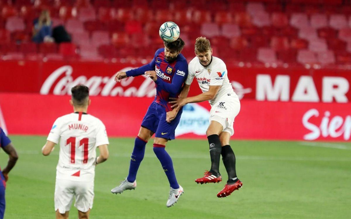 Séville - Barça : Un point c'est tout (0-0)