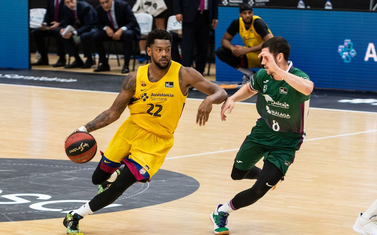 Unicaja 73-84 Barça: Two wins out of two