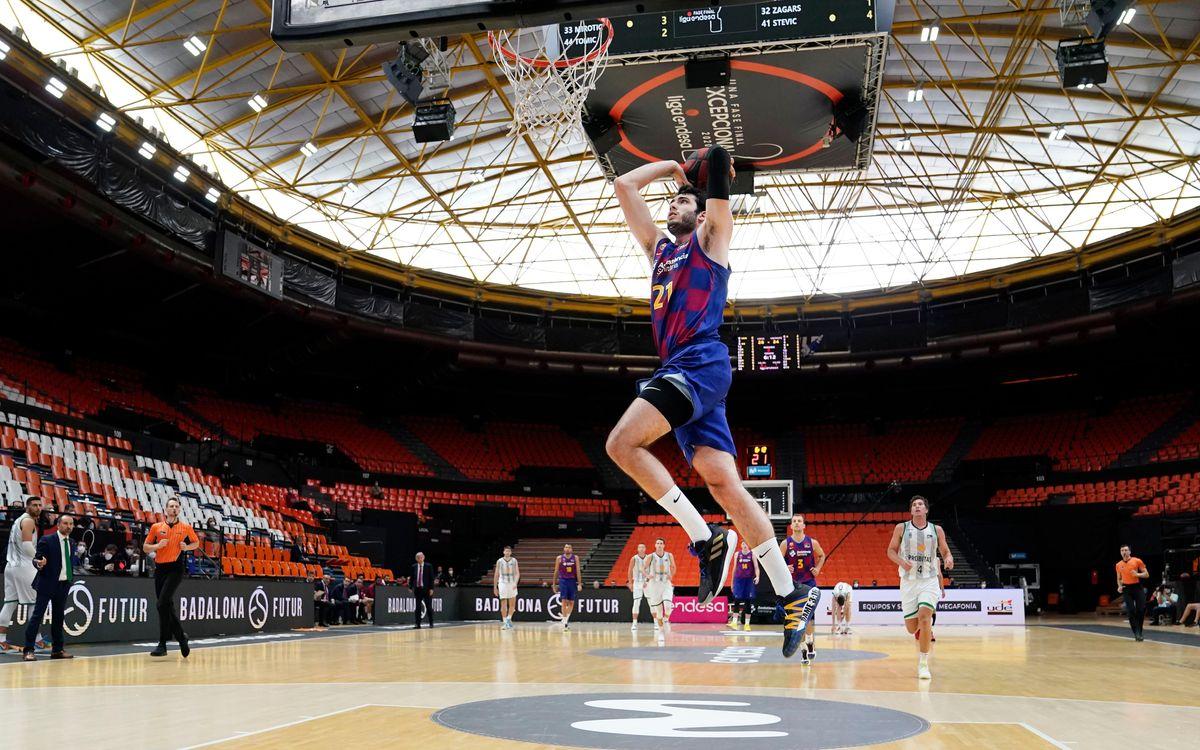 El Baskonia, el tercer reto del Barça en la fase final