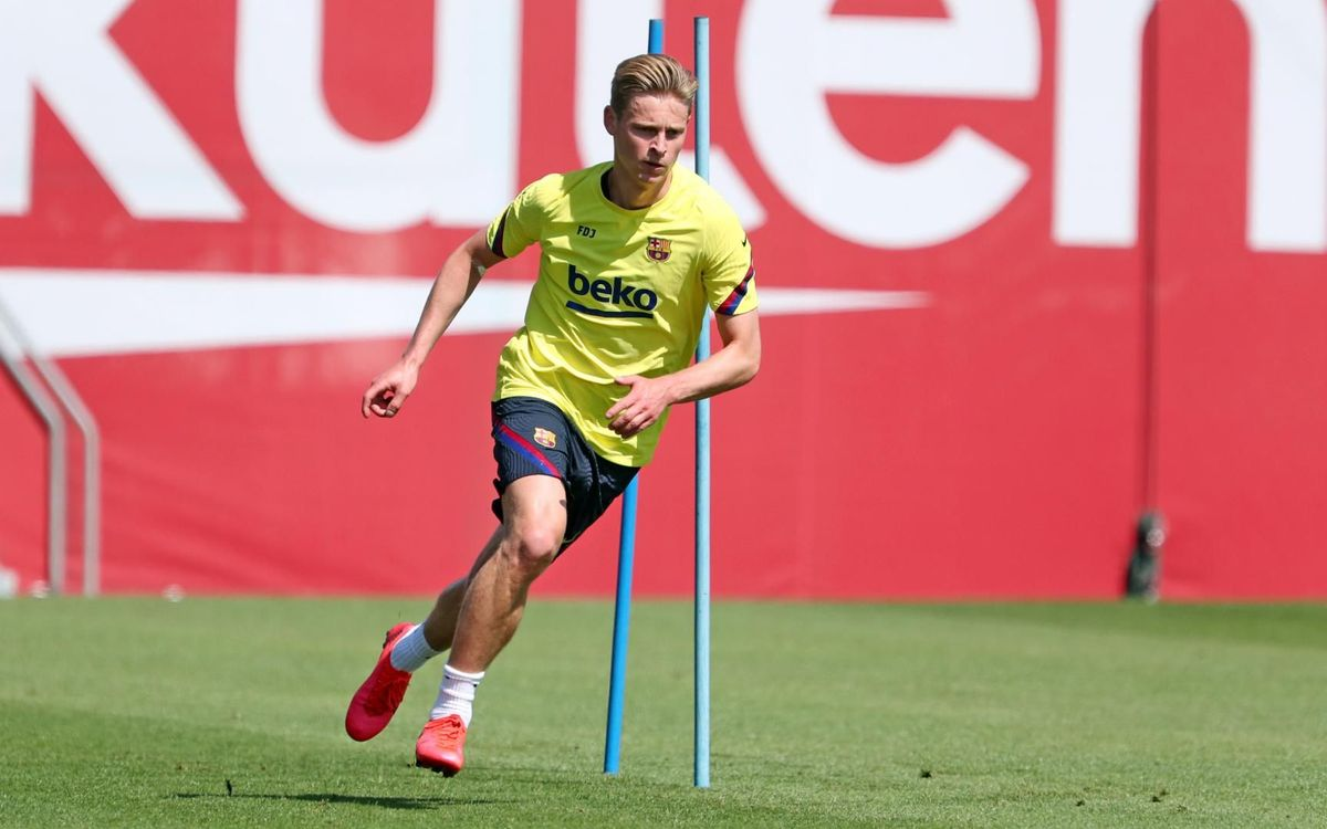 Soleus injury for Frenkie De Jong