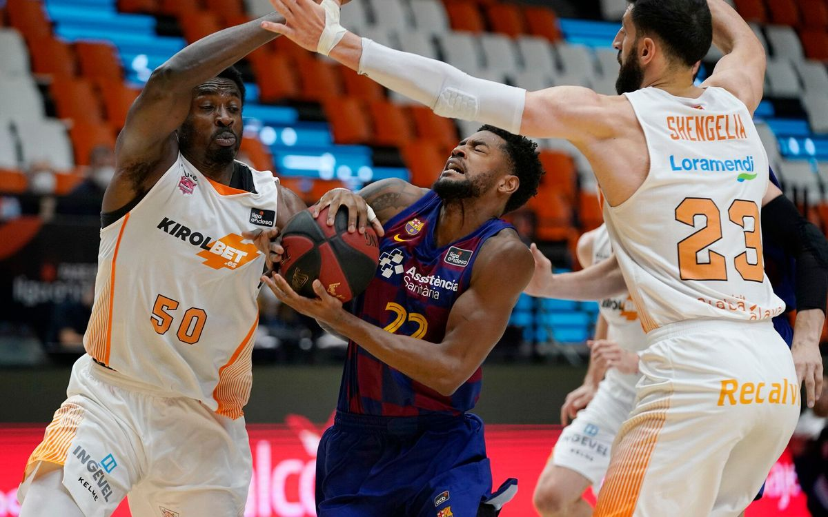 Barça 81-75 Baskonia: Undefeated and solo leaders!