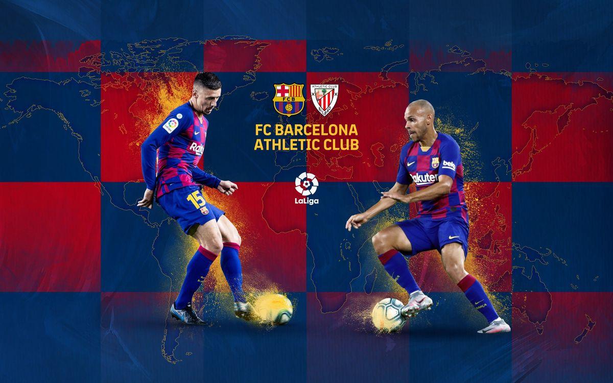 Cuándo y dónde ver el Barça - Athletic Club
