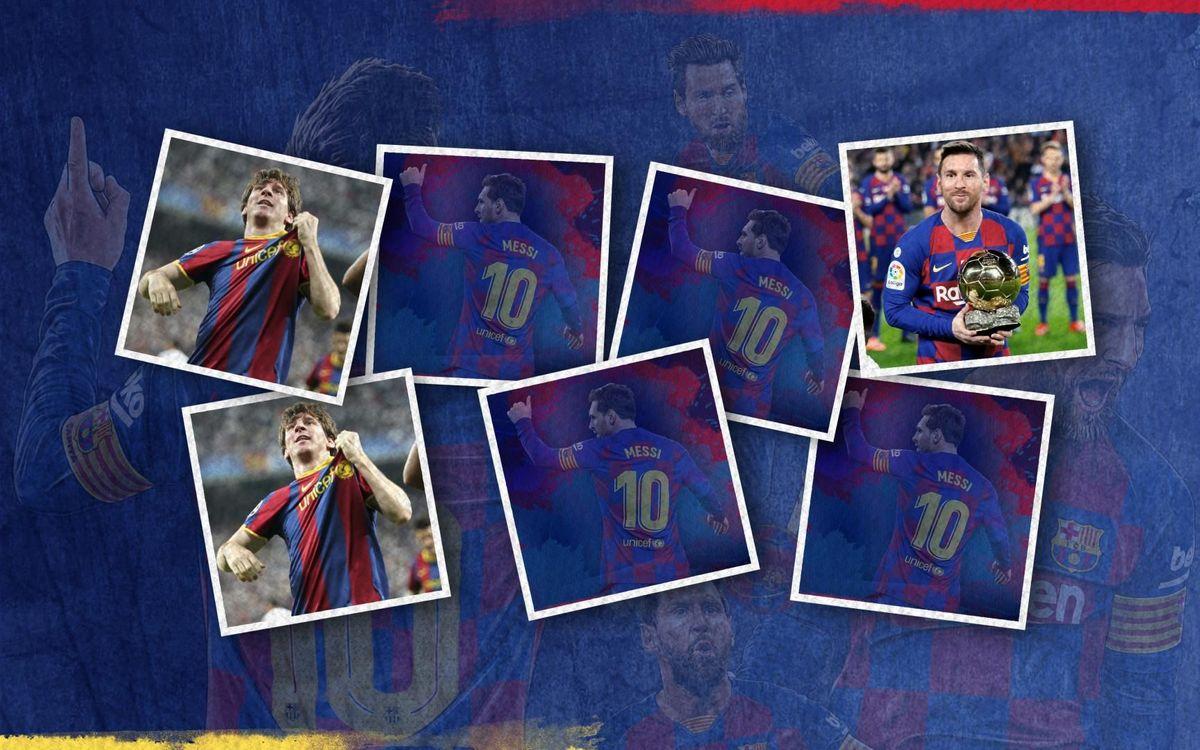 El 'Memory' de Leo Messi: aparella aquests moments destacats