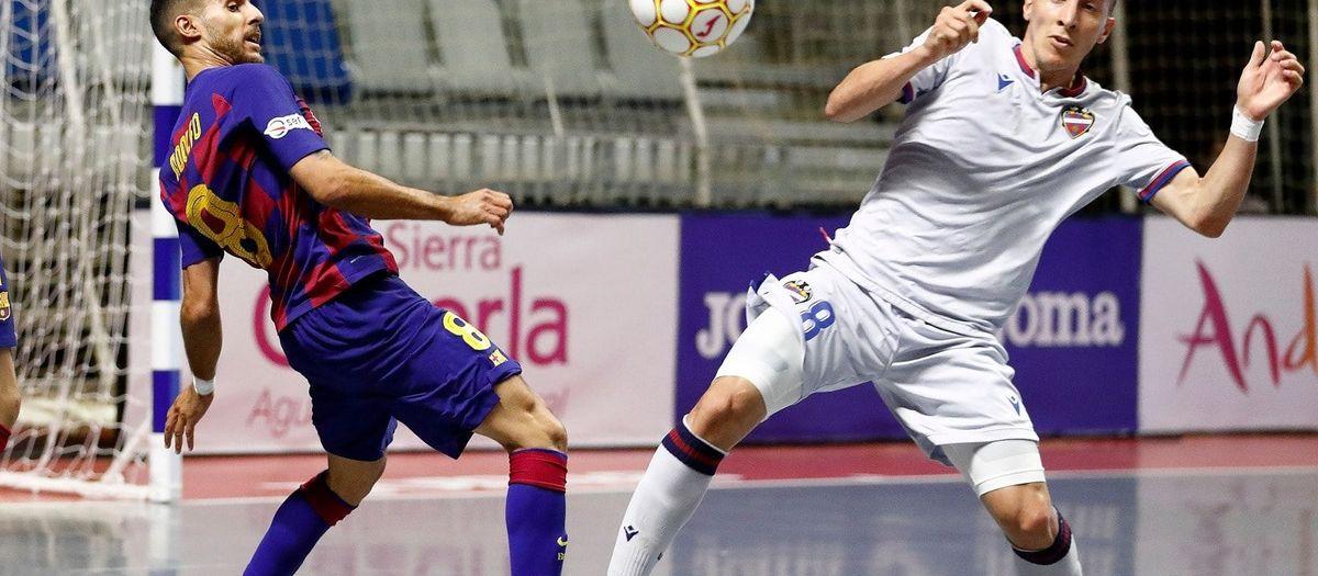 Barça 2 Levante 3: The league title slips away