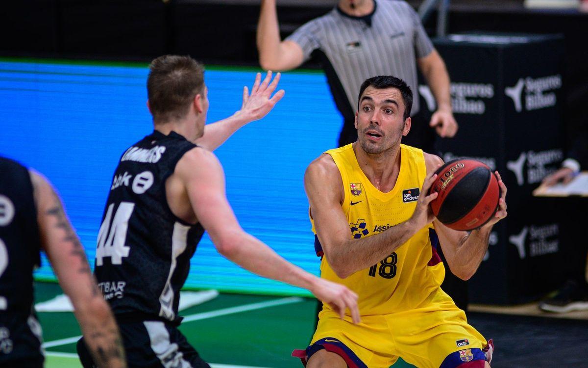 Retabet Bilbao Basket 73-85 Barça: Through to the semi-finals!