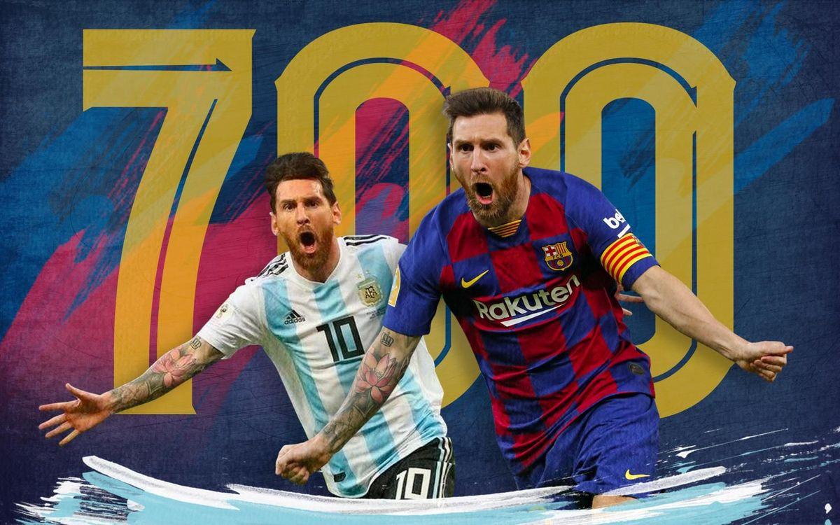 Messi signe son 700ème but en professionnel