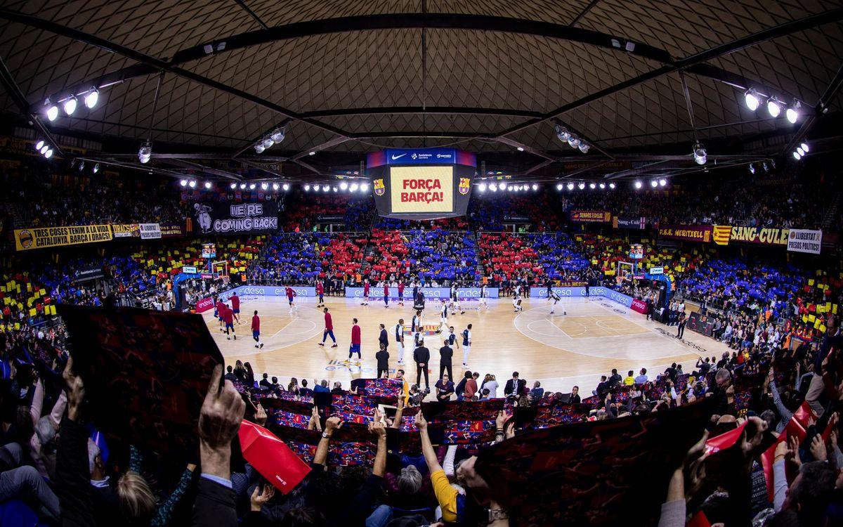 Abonaments Palau Blaugrana: Mesures de compensació, ajornada la renovació a l'agost, excedència temporal i opció al retorn de les quotes