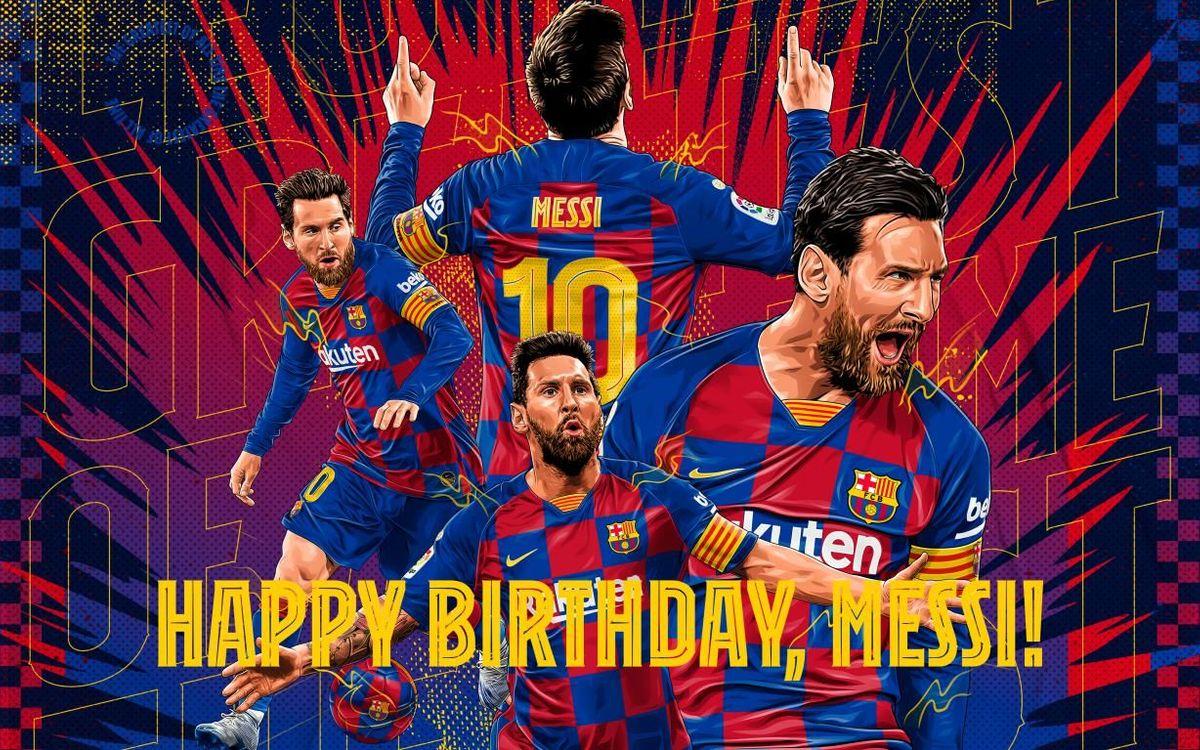Leo Messi, en 33 moments